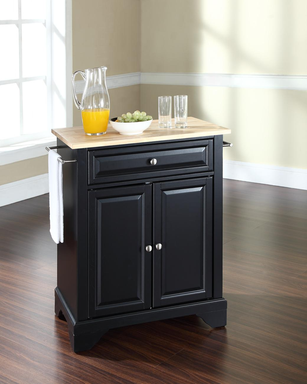 What Is A Kitchen Island With Pictures: Crosley LaFayette Portable Kitchen Island By OJ Commerce