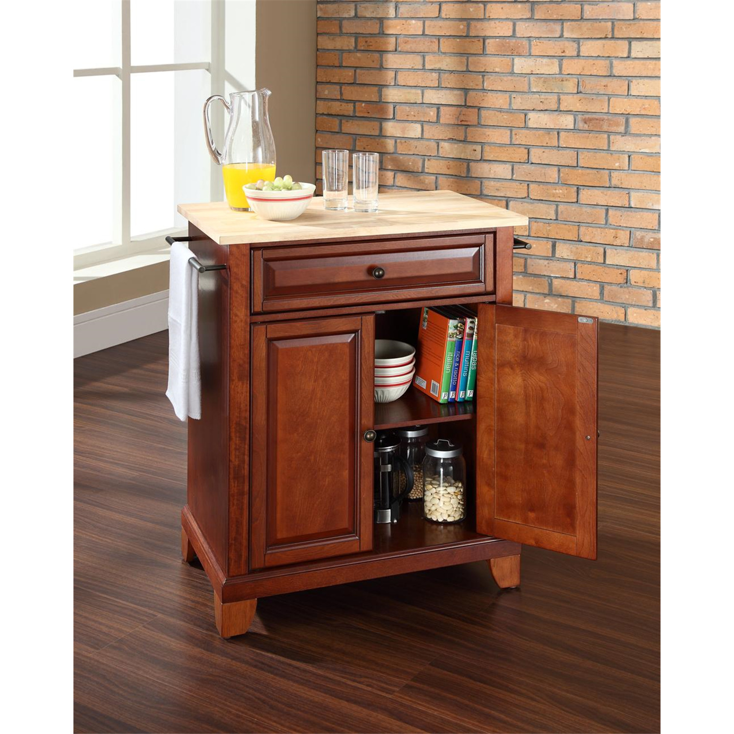 Crosley Newport Portable Kitchen Island by OJ merce