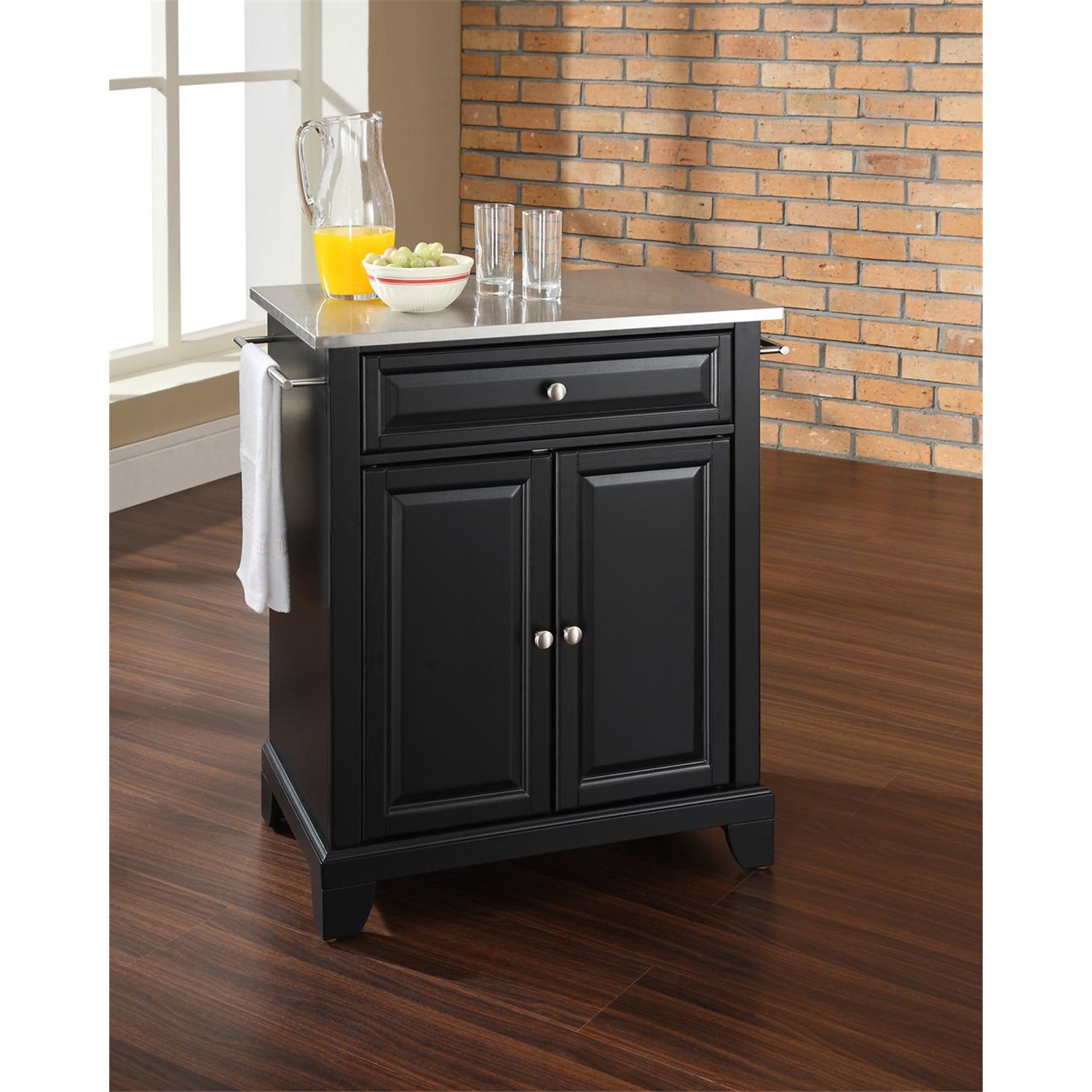 Crosley Newport Portable Kitchen Island By Oj Commerce Kf30022cbk