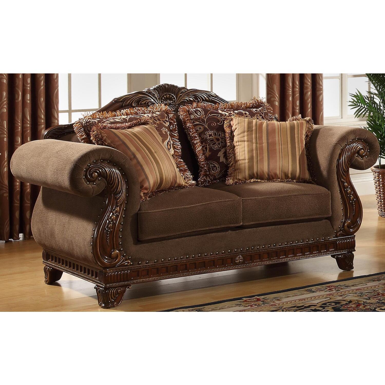 homelegance lambeth ii love seat by oj commerce l5669nf 2