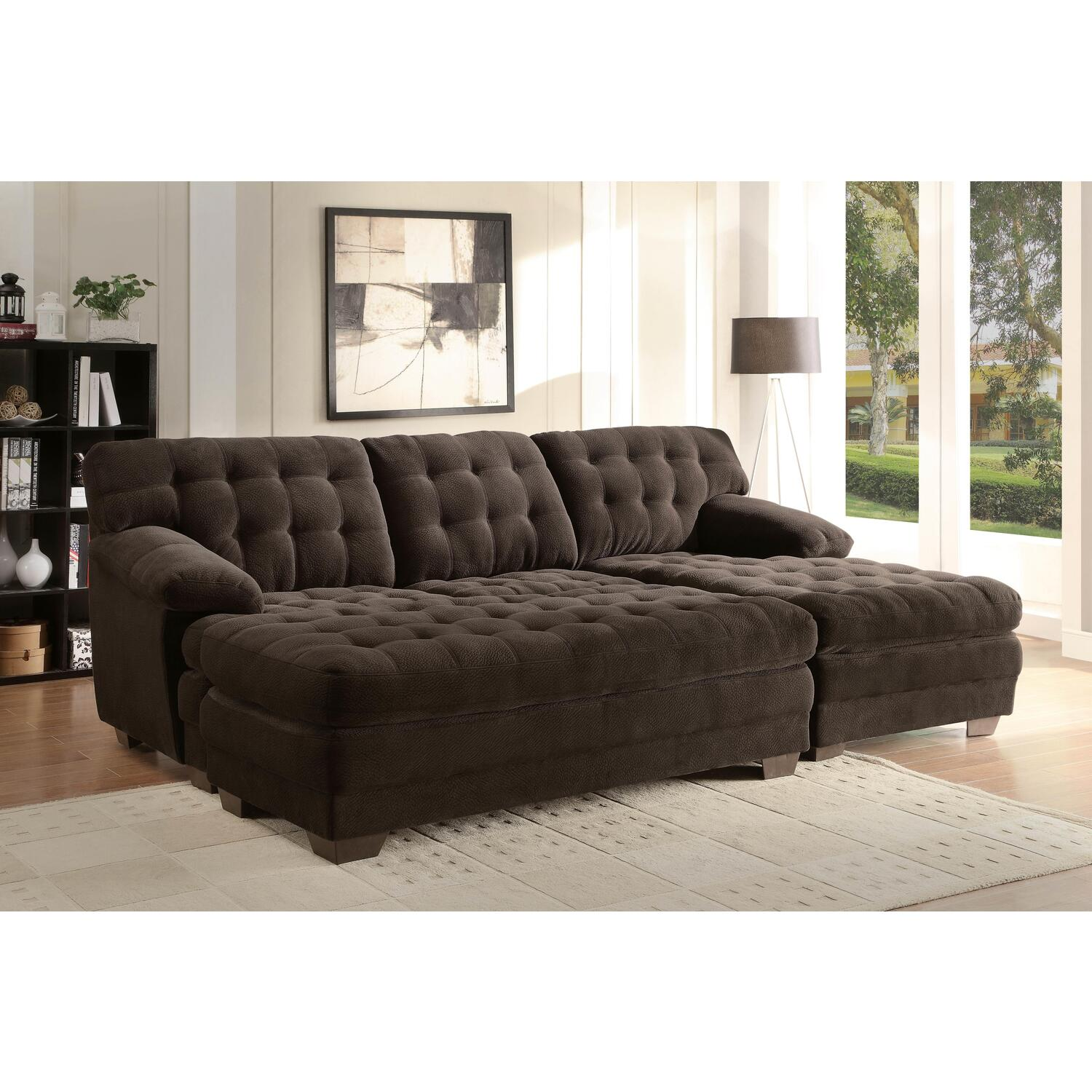 Extra wide sectional sofas with chaise for Big sofa technologies
