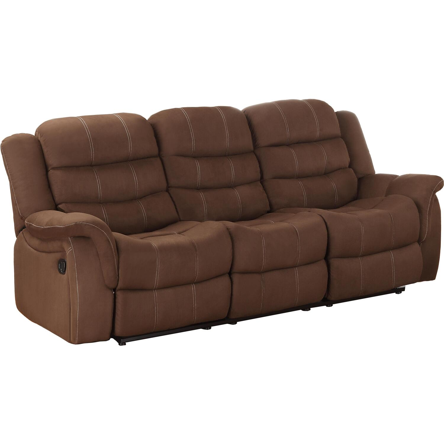 Homelegance Huxley Double Reclining Sofa By OJ Commerce
