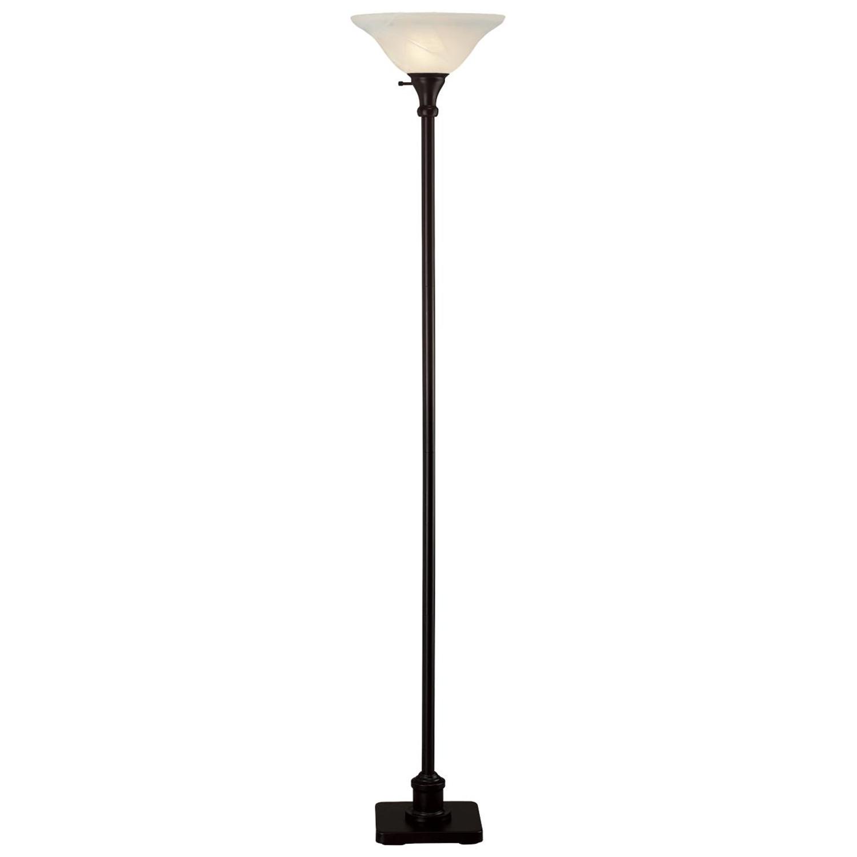 home source 72 h metal floor lamp by oj commerce lmp4250. Black Bedroom Furniture Sets. Home Design Ideas