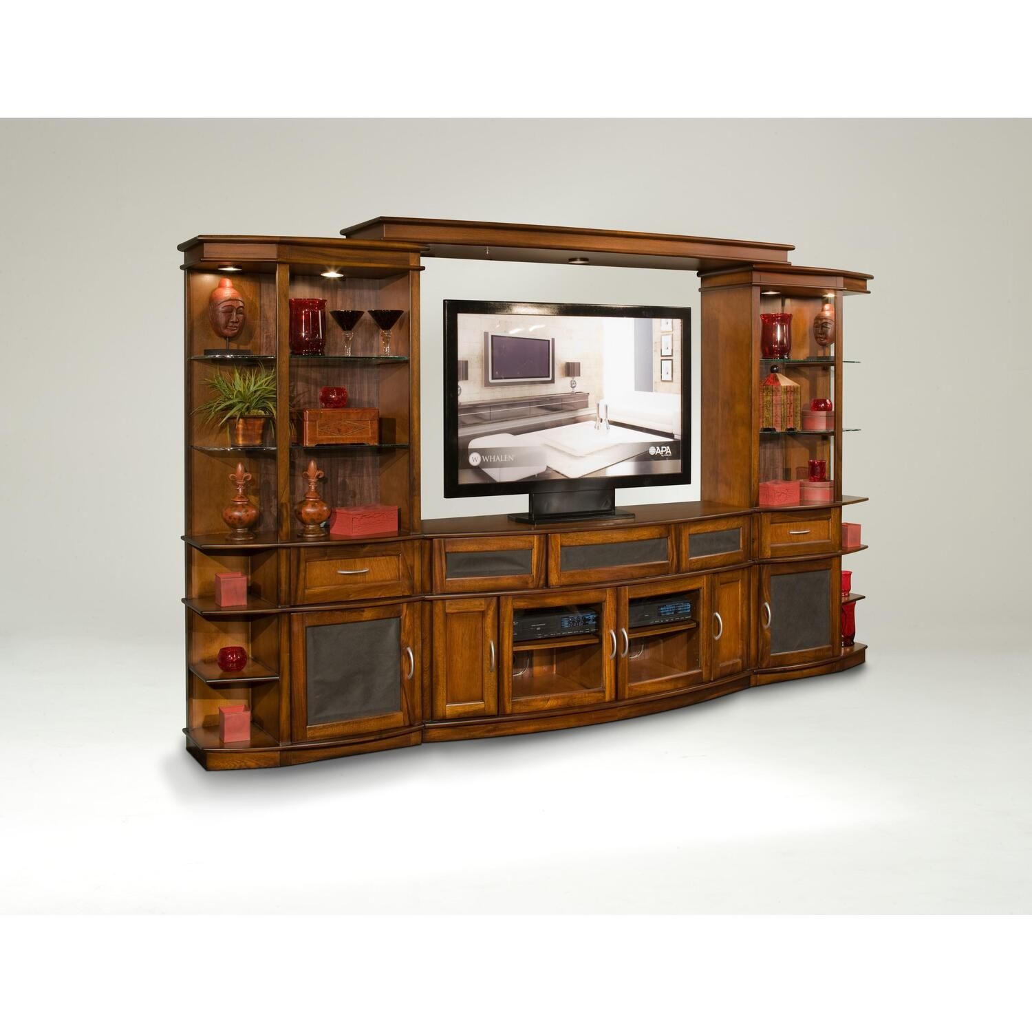 """Whalen London Entertainment Center With 60"""" TV Console By"""