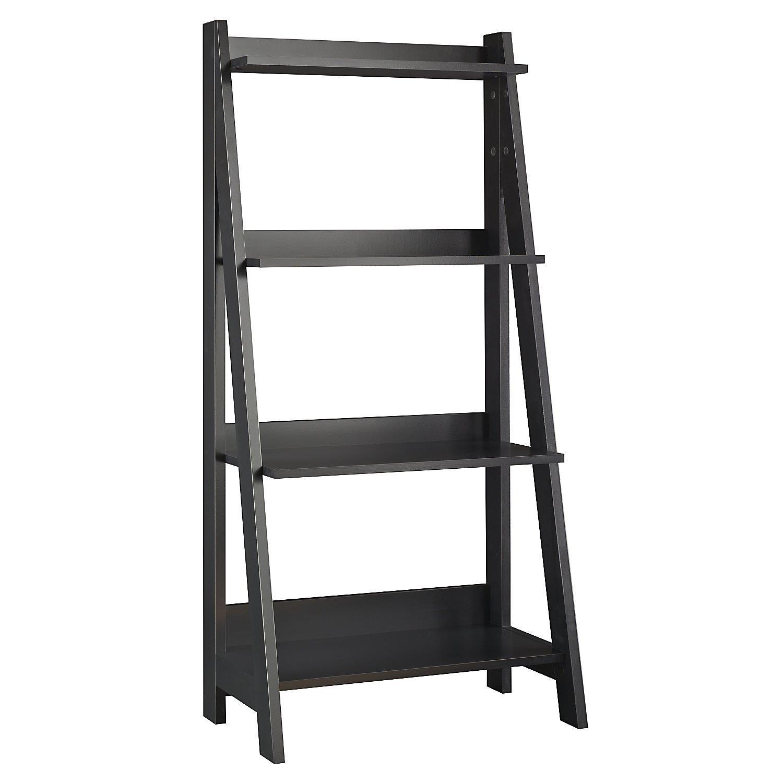 Bush Furniture Ladder Bookcase By OJ Commerce MY72716-03