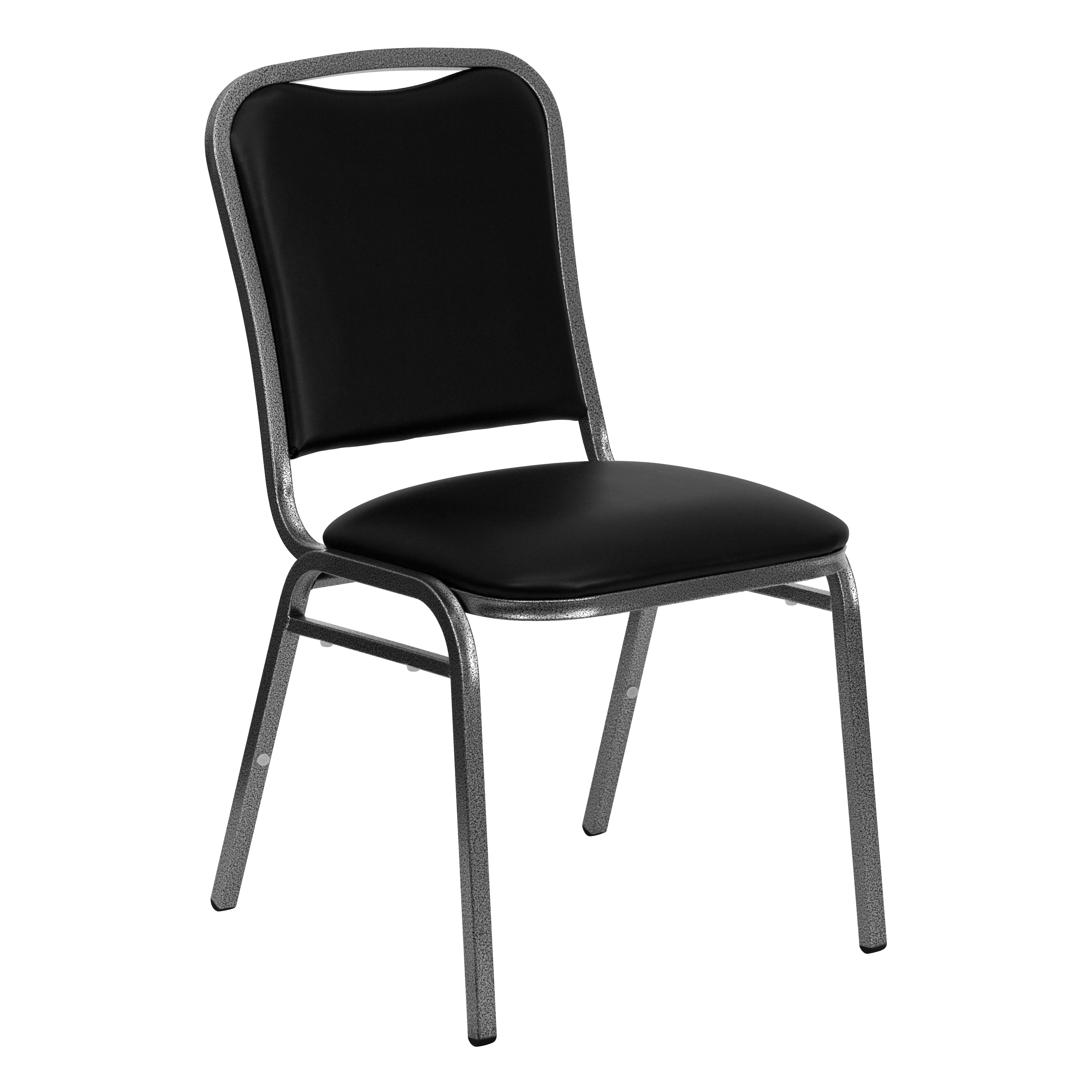 Flash Hercules Series Stacking Banquet Chair With Black