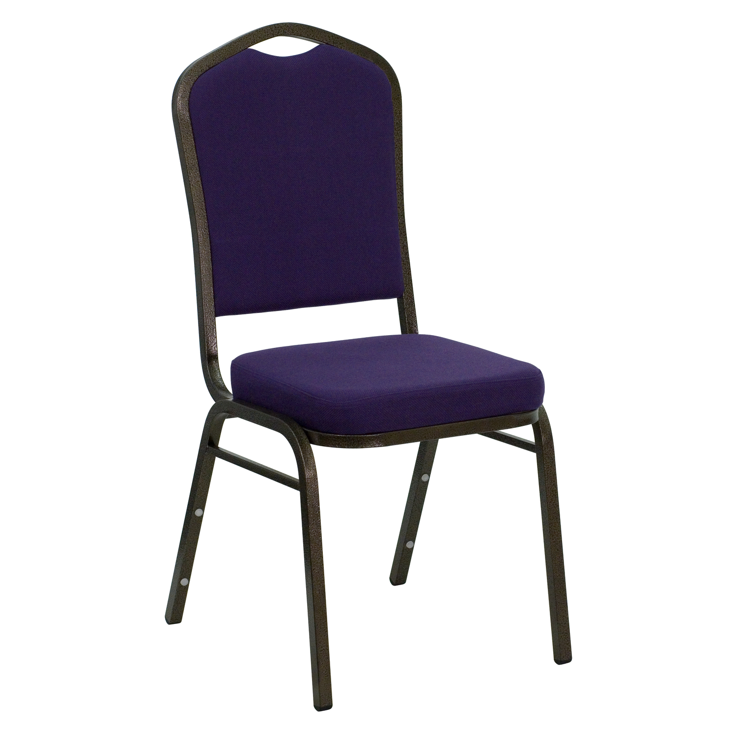 Flash Hercules Series Crown Back Stacking Banquet Chair