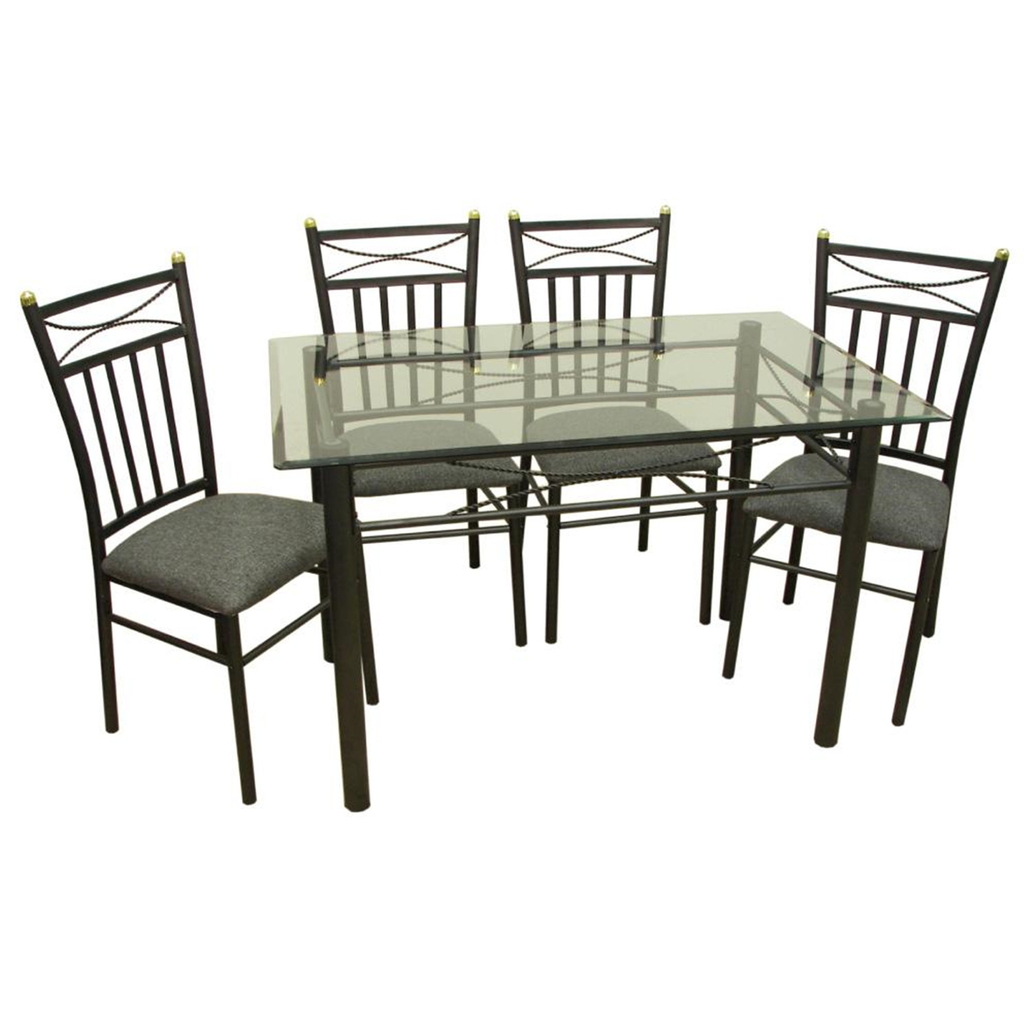 Home Source Palermo 5pc Dinette Set By OJ Commerce
