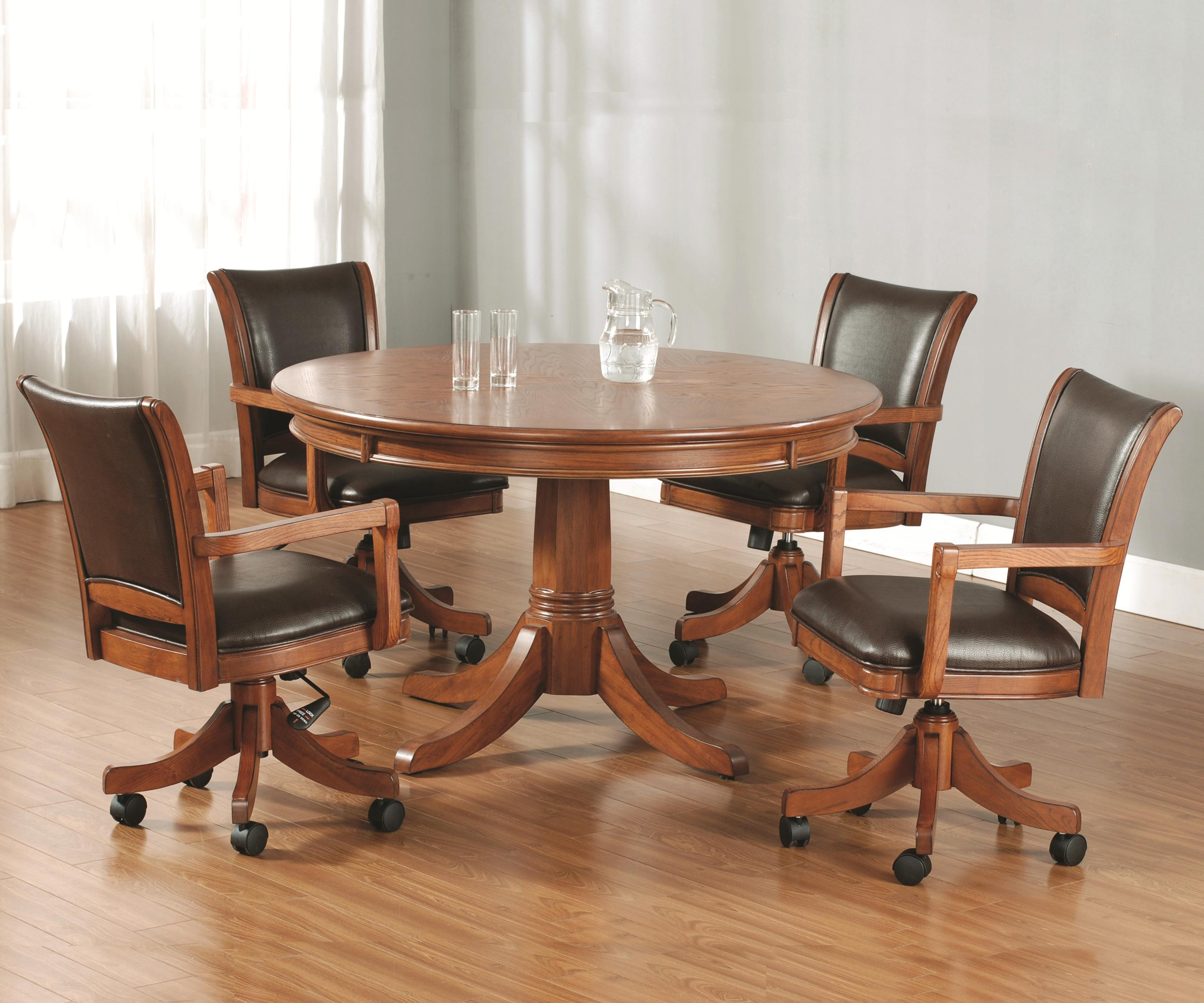 Hillsdale Furniture Parkview 5 Piece Game Table Set W