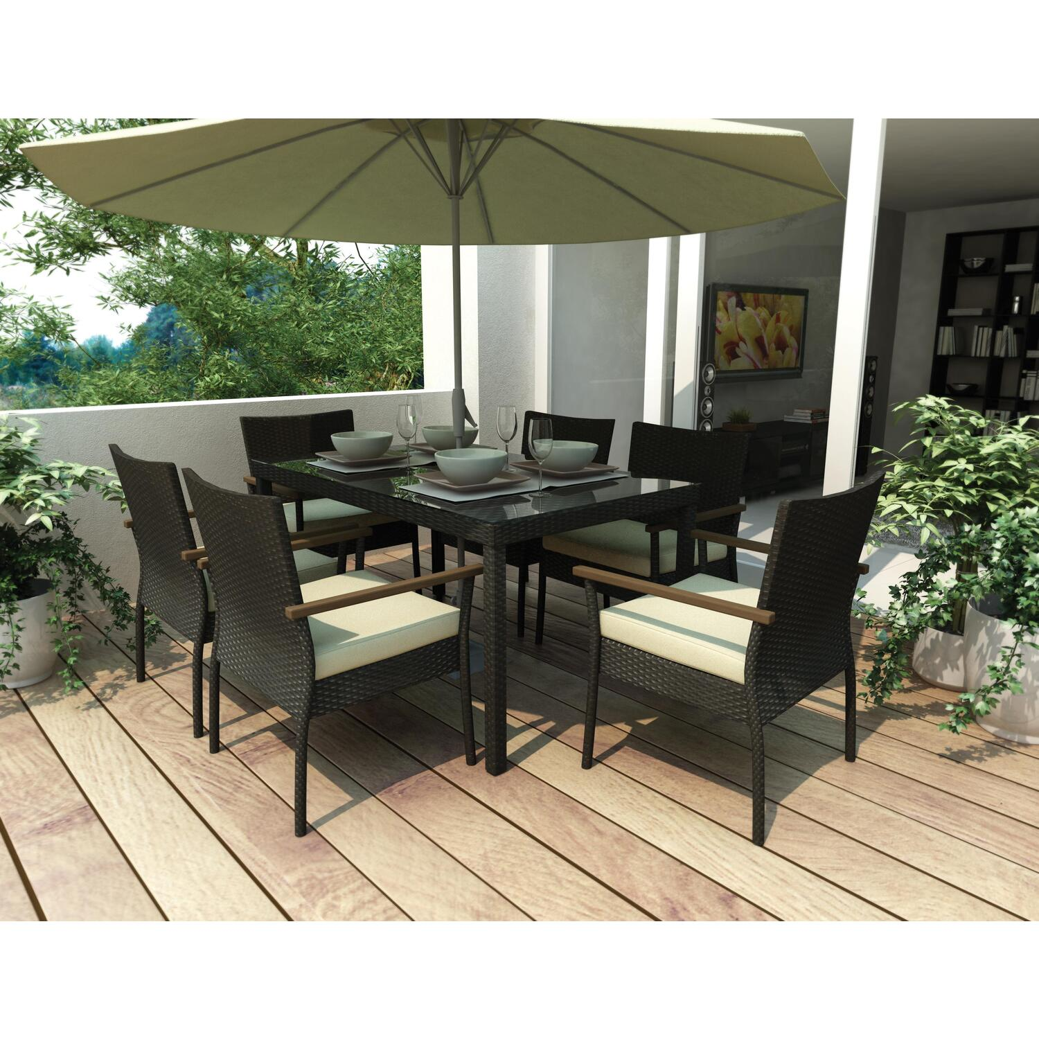 Patio dinning sets patio design ideas for Outdoor patio set