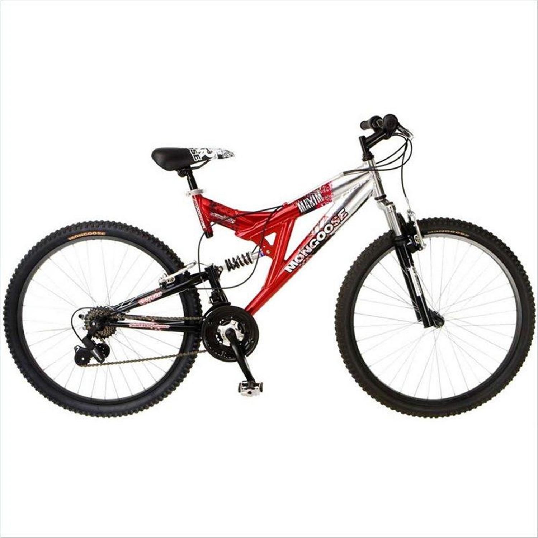 Mongoose Mgx Maxim Dual Suspension 26 Quot Men S Mountain Bike