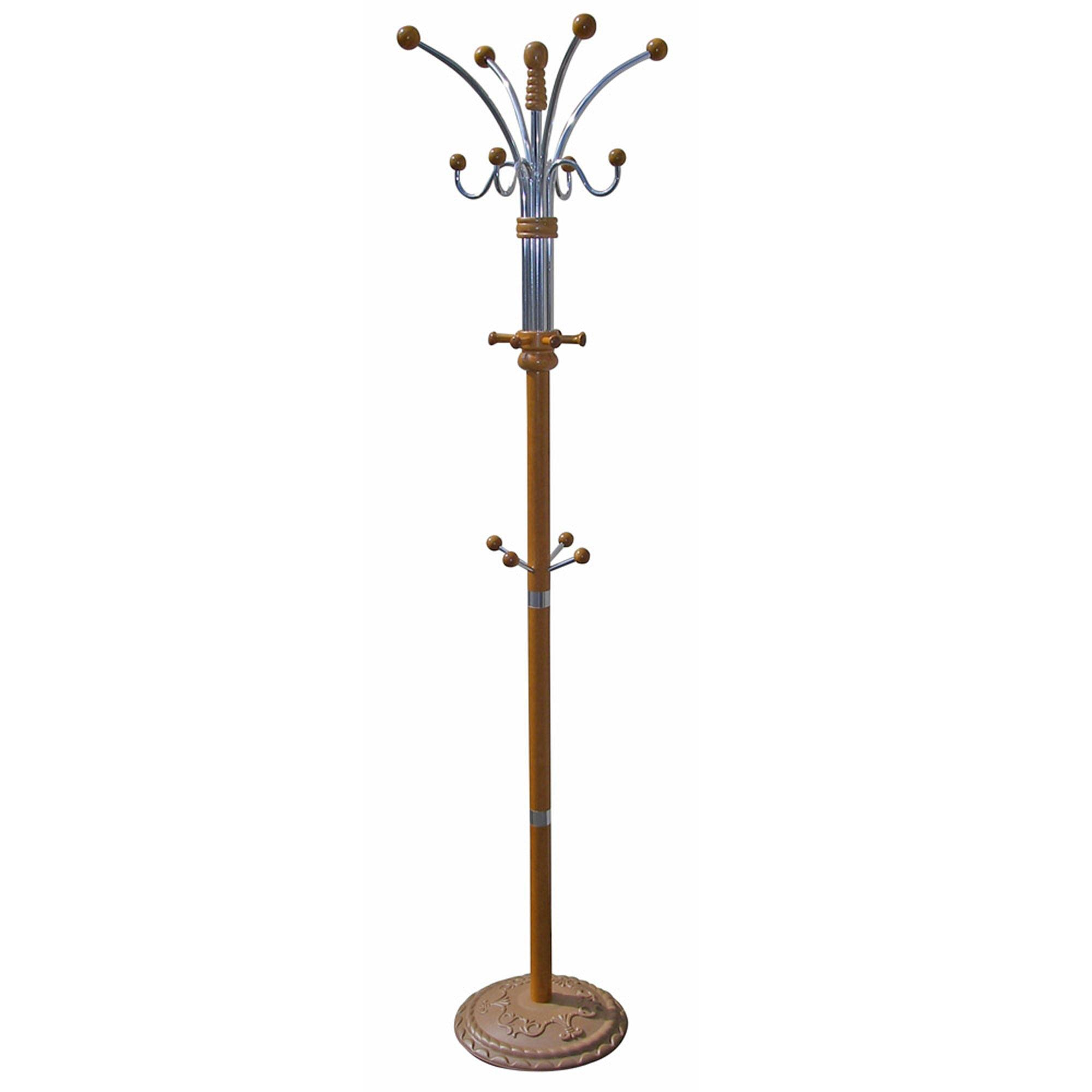 ORE International Wooden Coat Rack by OJ Commerce $73.77