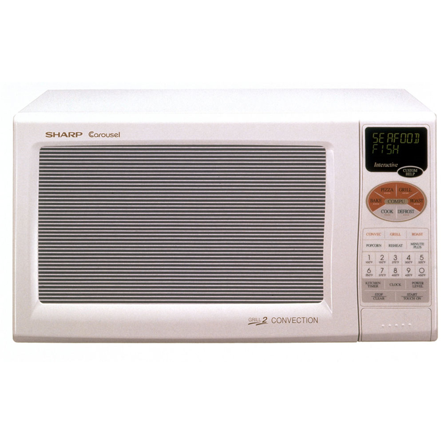 Countertop Convection Oven With Microwave : ... cu. ft. 900W Grill 2 Compact Countertop Convection Microwave Oven