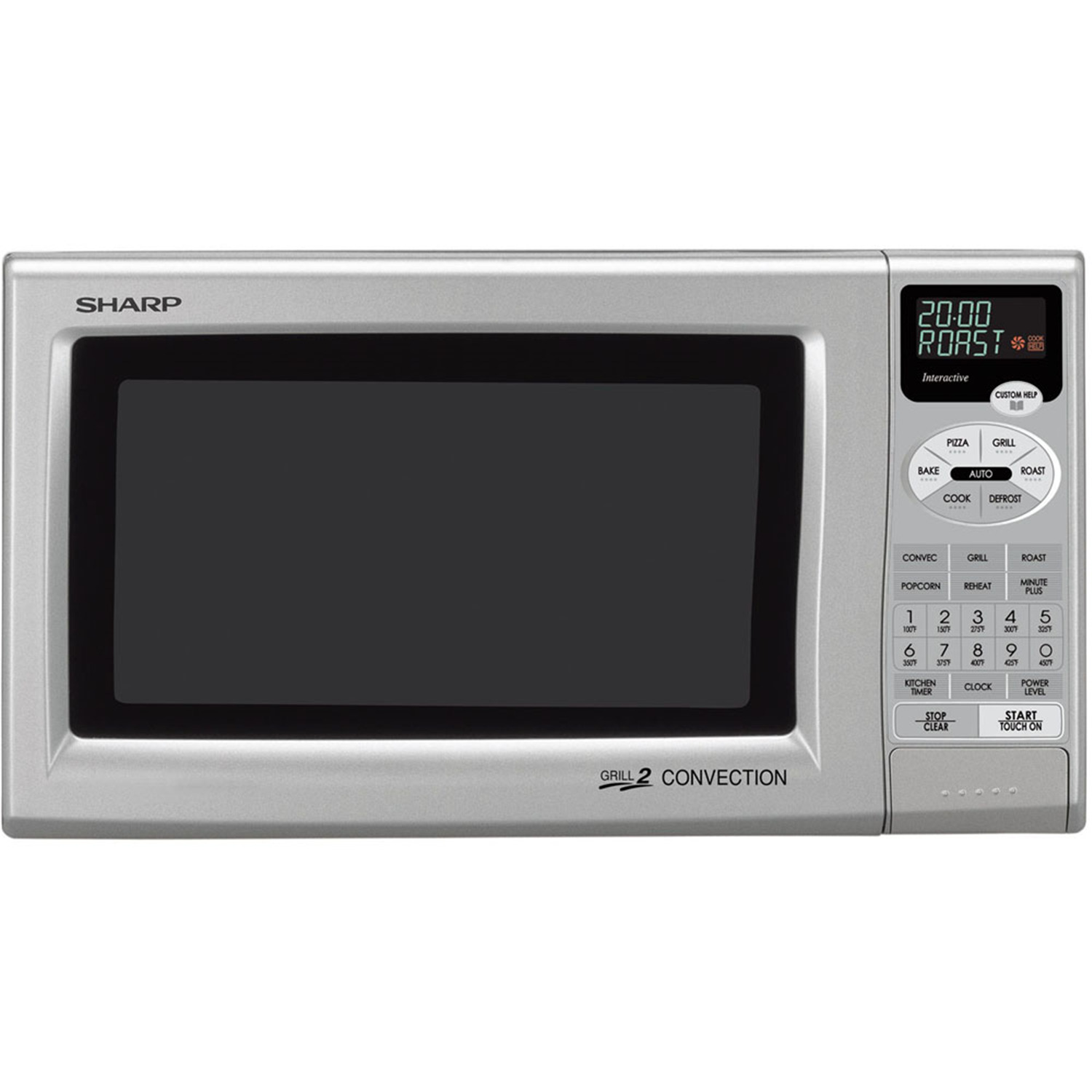 ... cu. ft. 900W Grill 2 Compact Countertop Convection Microwave Oven