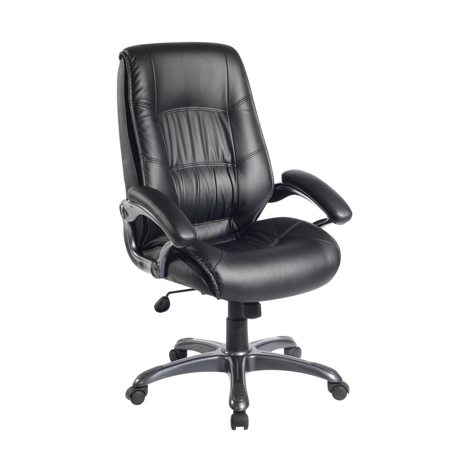 Techni Mobili Executive High Back Chair By OJ Commerce RTA 722H BK