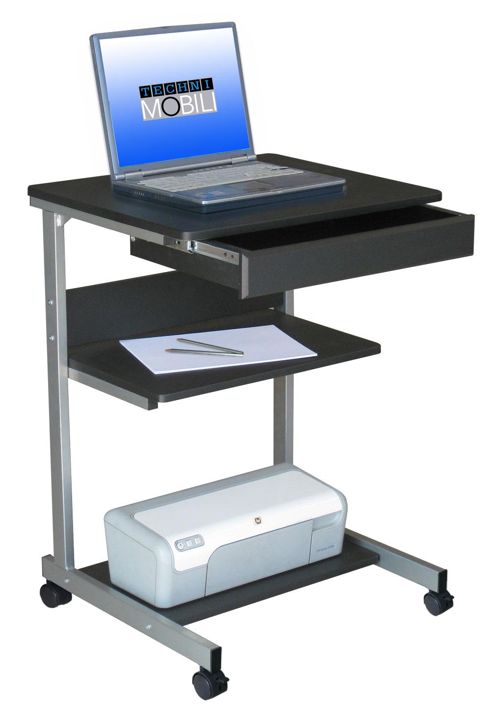 Techni Mobili Laptop Stand by OJ Commerce RTA-B018-GPH06 - $52.08