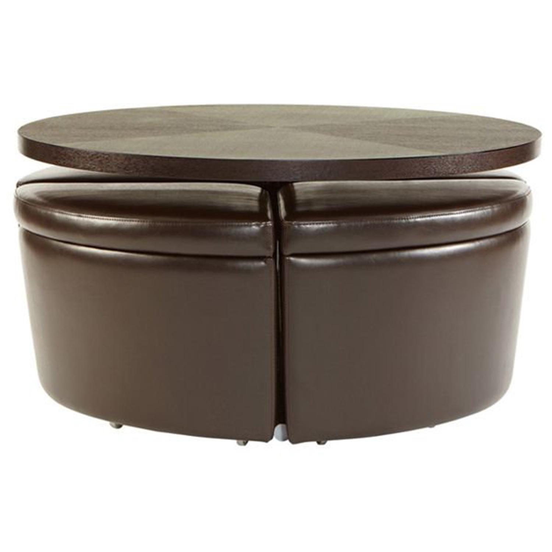 Sitcom Sedona Coffee Table Ottomans By Oj Commerce Sedo00006621