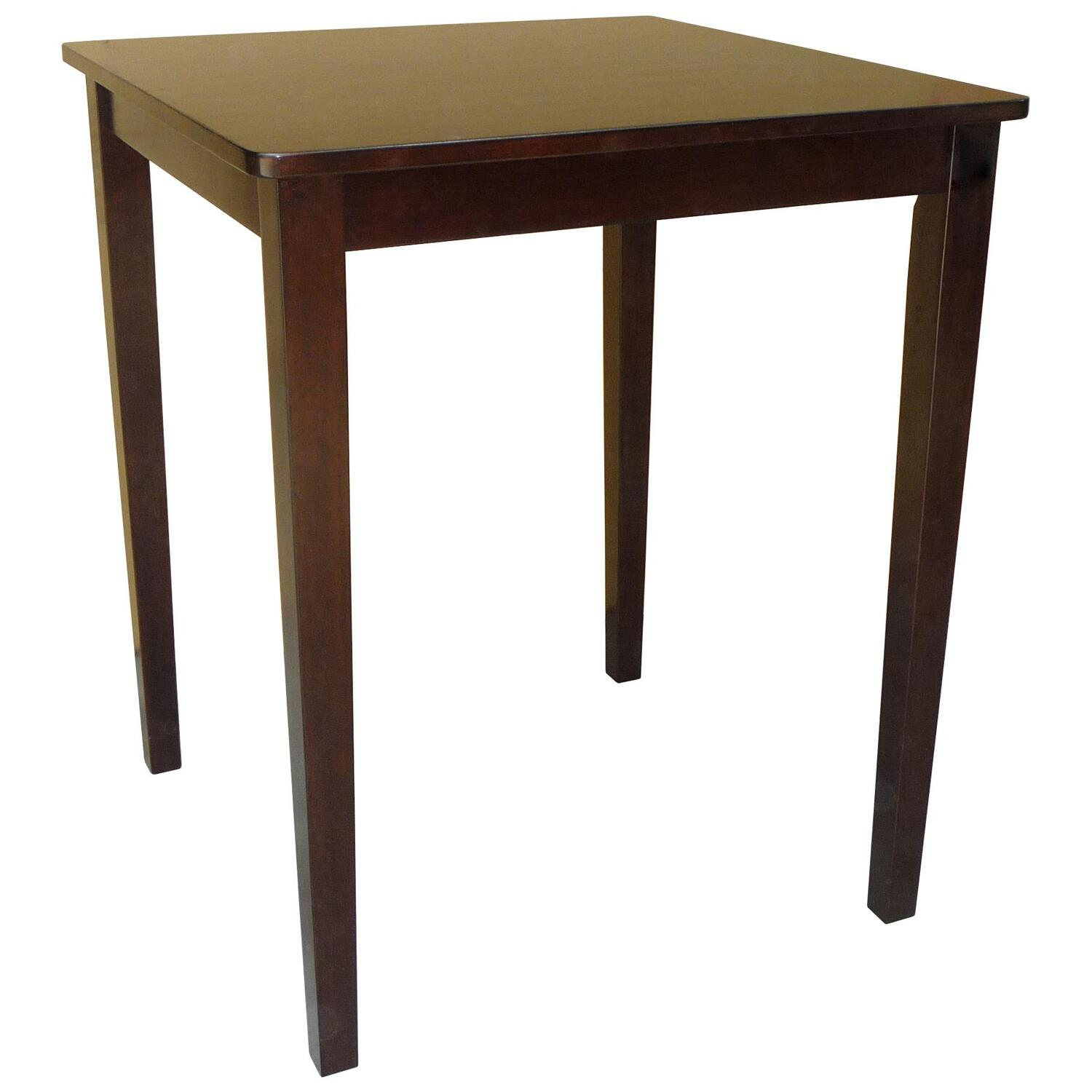 International concepts shaker styled counter height table for Square counter height table
