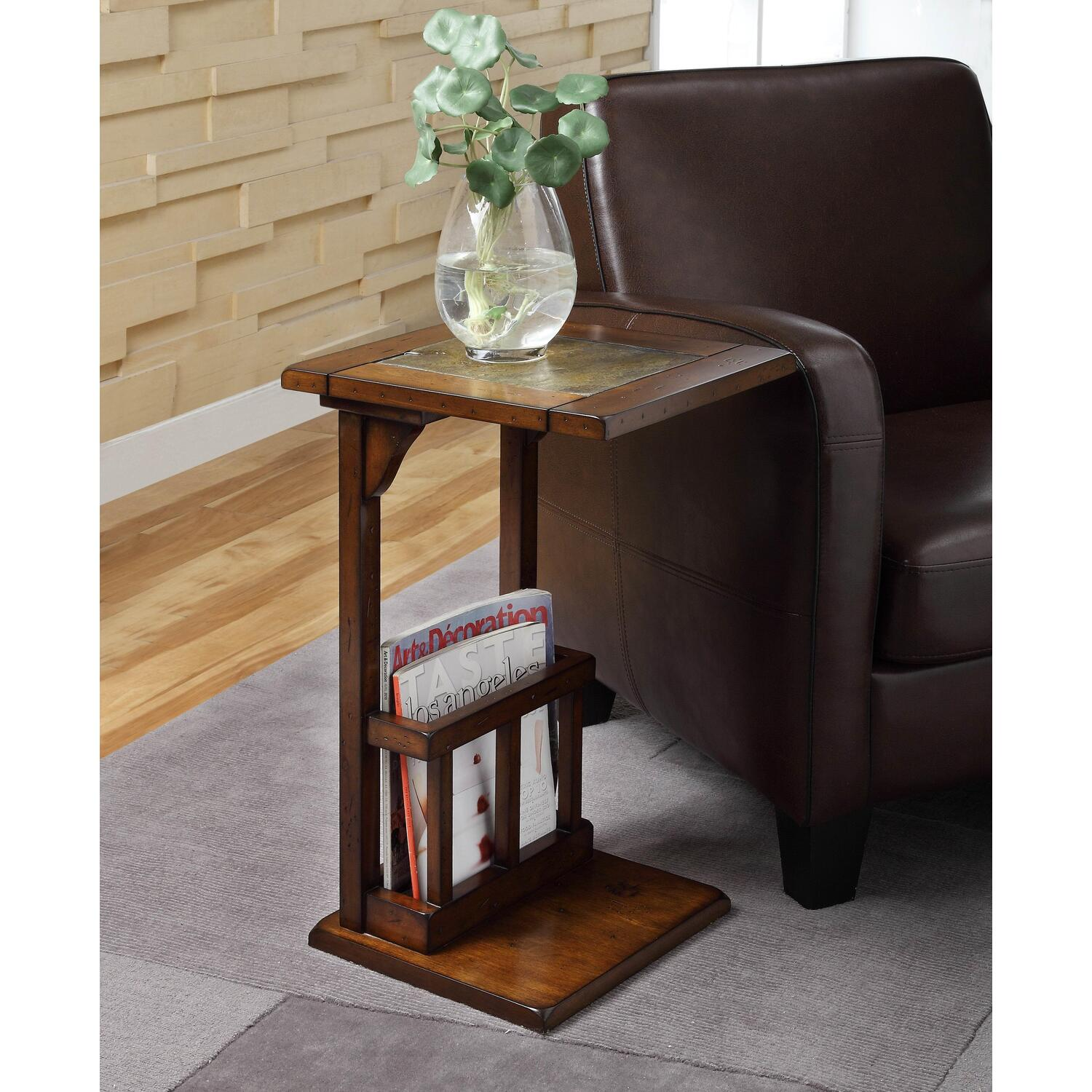 Homelegance Berman Chairside Table by OJ merce $86 04