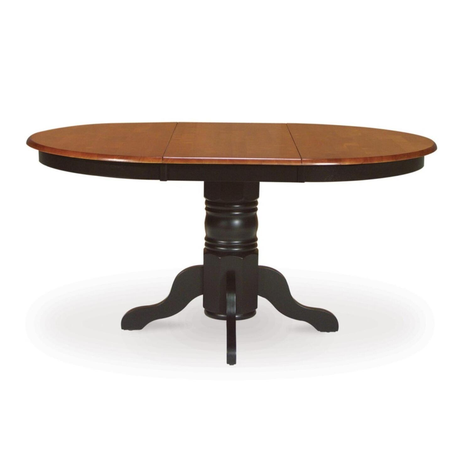 International Concepts Single Pedestal Table Base Without