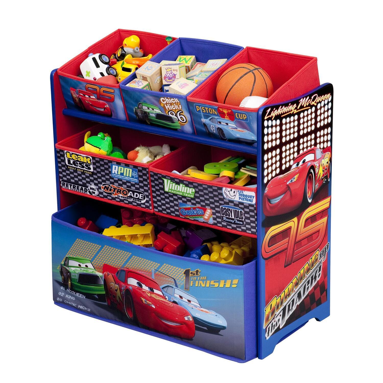 Disney Disney Cars Multi Bin Toy Organizer By Oj Commerce