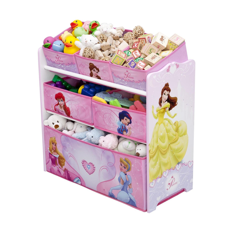 Disney Princess Toys : Disney princess multi bin toy organizer by oj