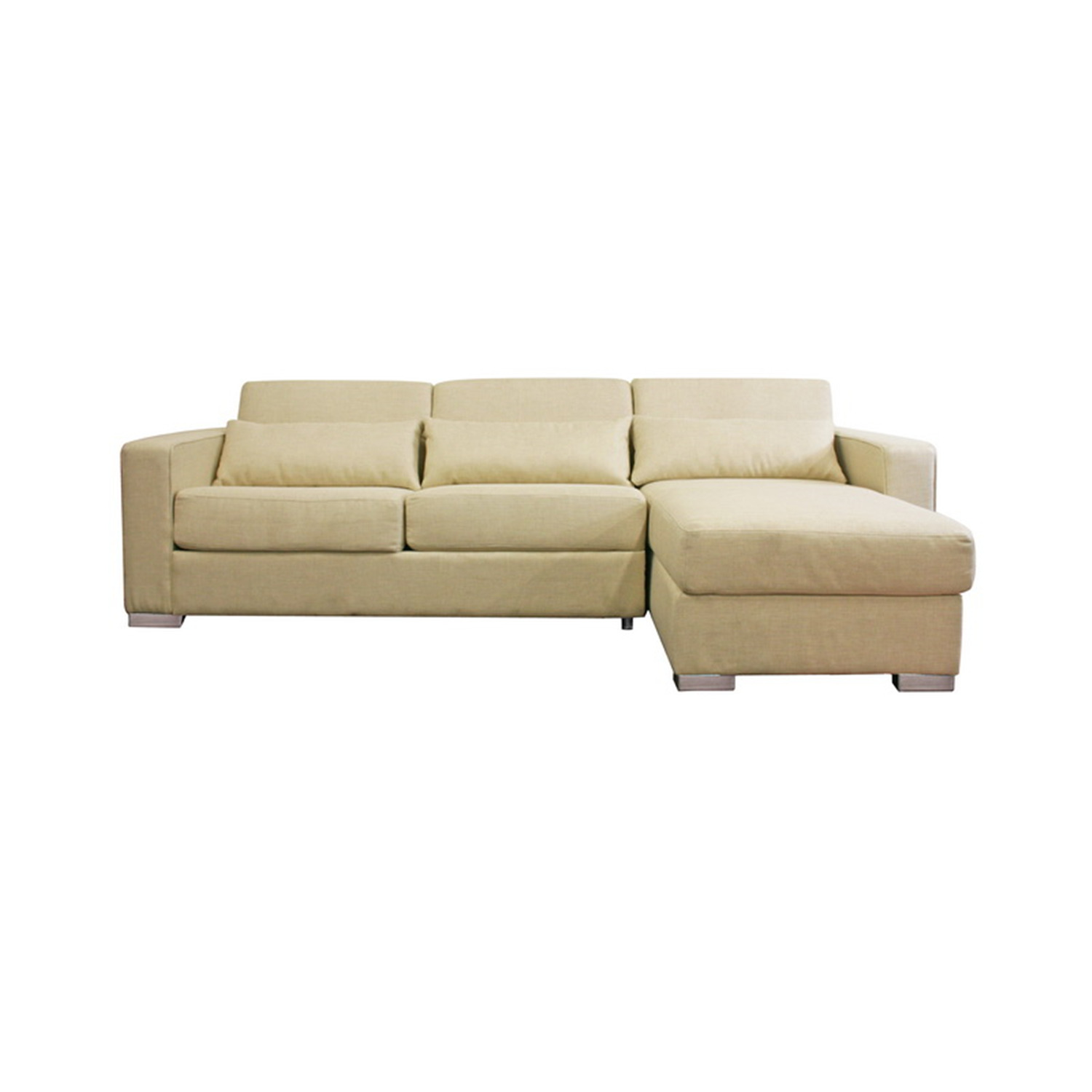 Incredible Beeson Fabric Queen Sleeper Chaise Sofa Best Furnitures Ncnpc Chair Design For Home Ncnpcorg