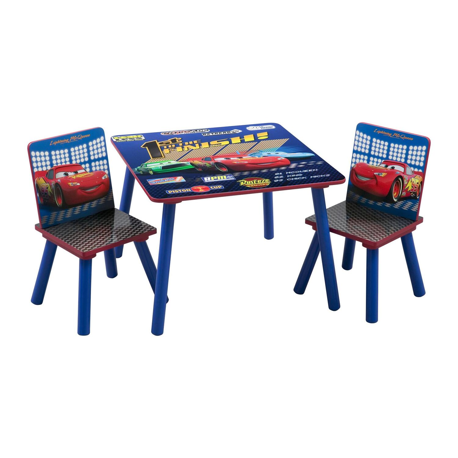 Disney Disney Cars Square Table and Chair Set by OJ Commerce TT89189CR ...