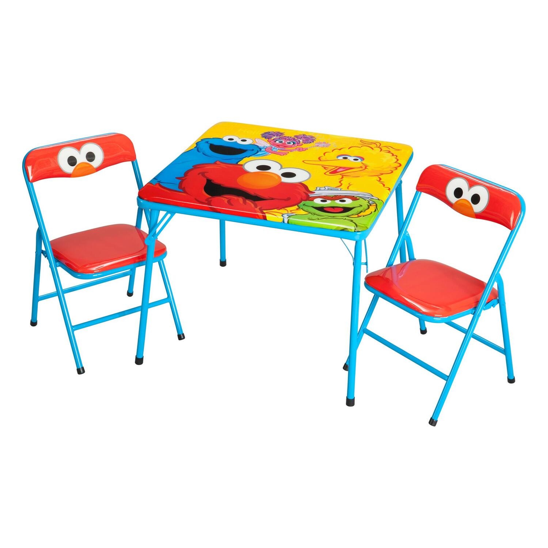 Sesame Street Sesame Street Activity Table Chair Set By