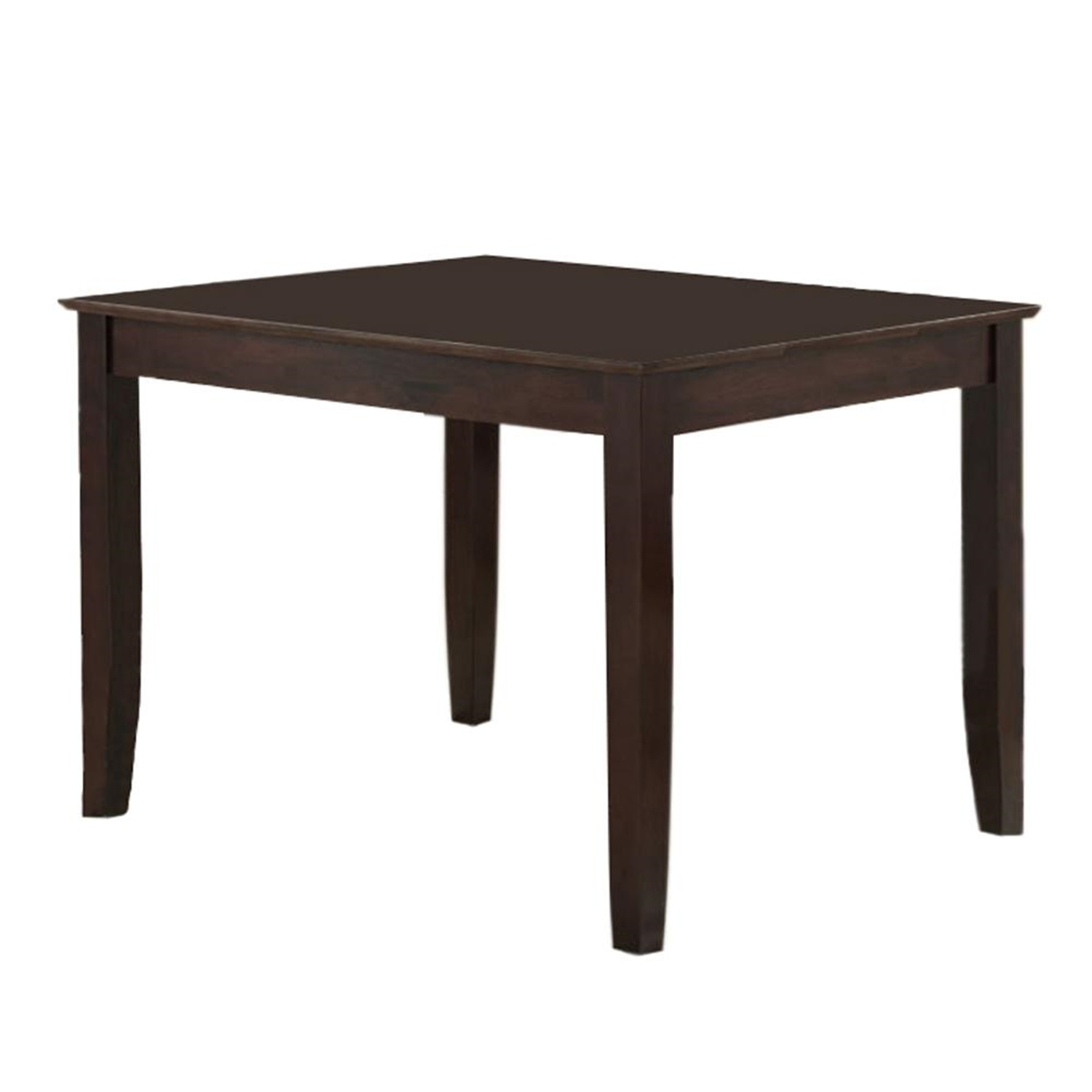 Walker edison solid wood dining table by oj commerce 219 for Hardwood dining table
