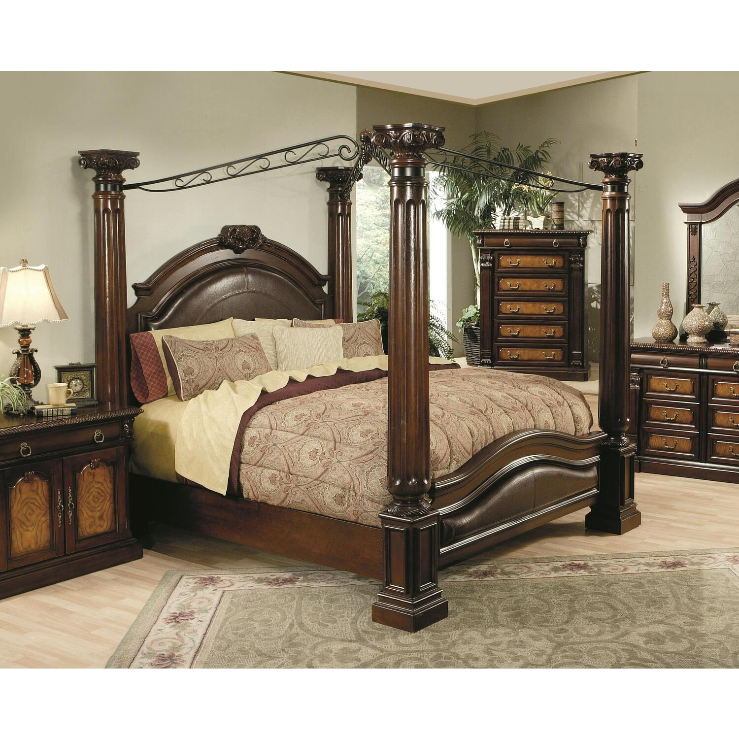 Hollywood Home Monte Carlo Canopy Bed By Oj Commerce