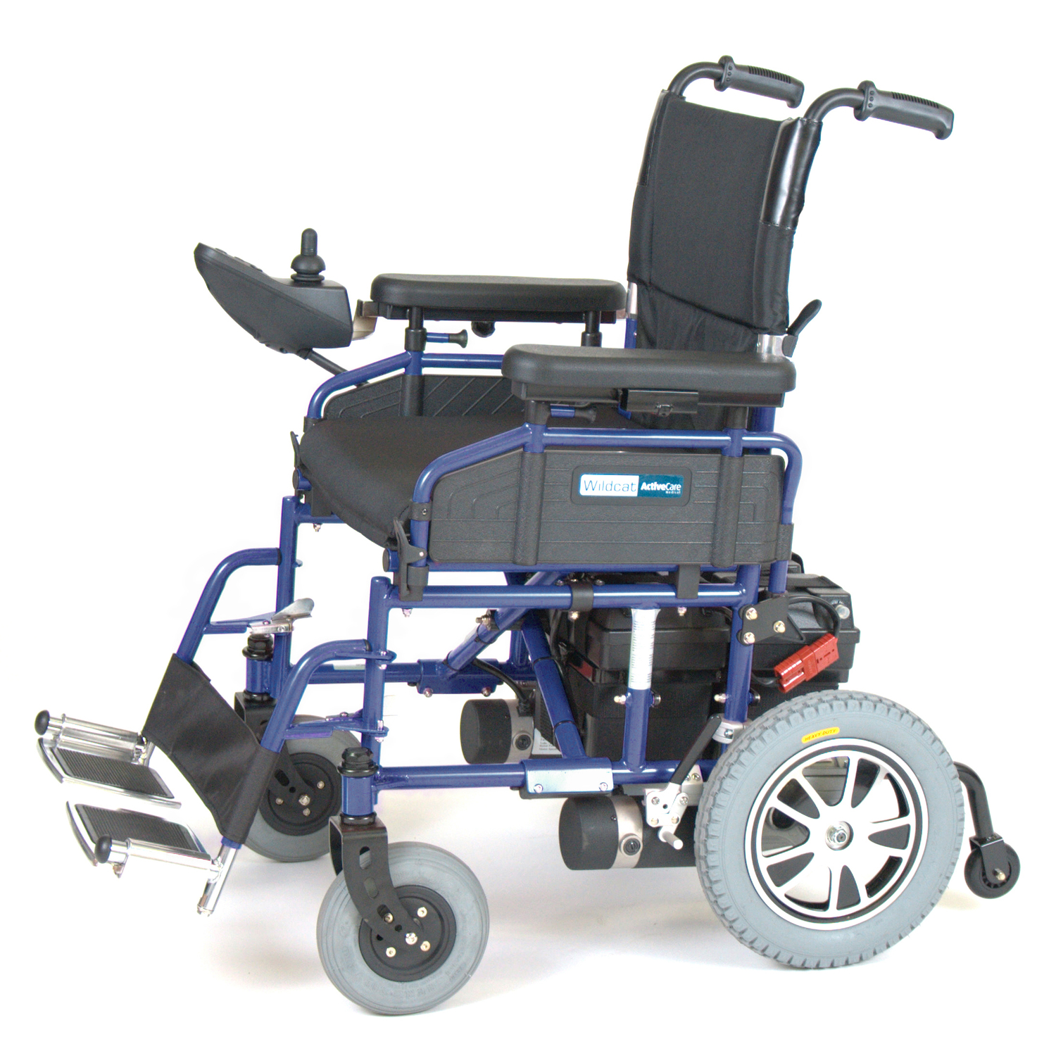 Activecare wildcat folding power wheelchair by oj commerce wildcat20b
