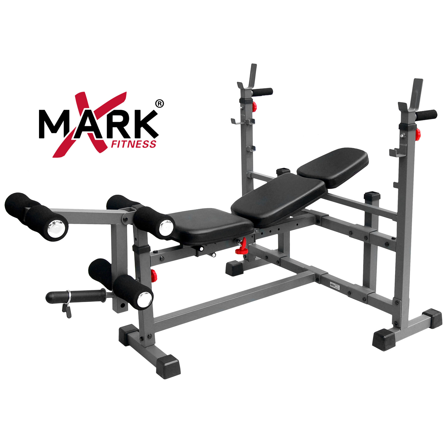 Xmark Fitness Xmark Olympic Weight Bench With Leg Curl Attachment Xm 4421 By Oj Commerce