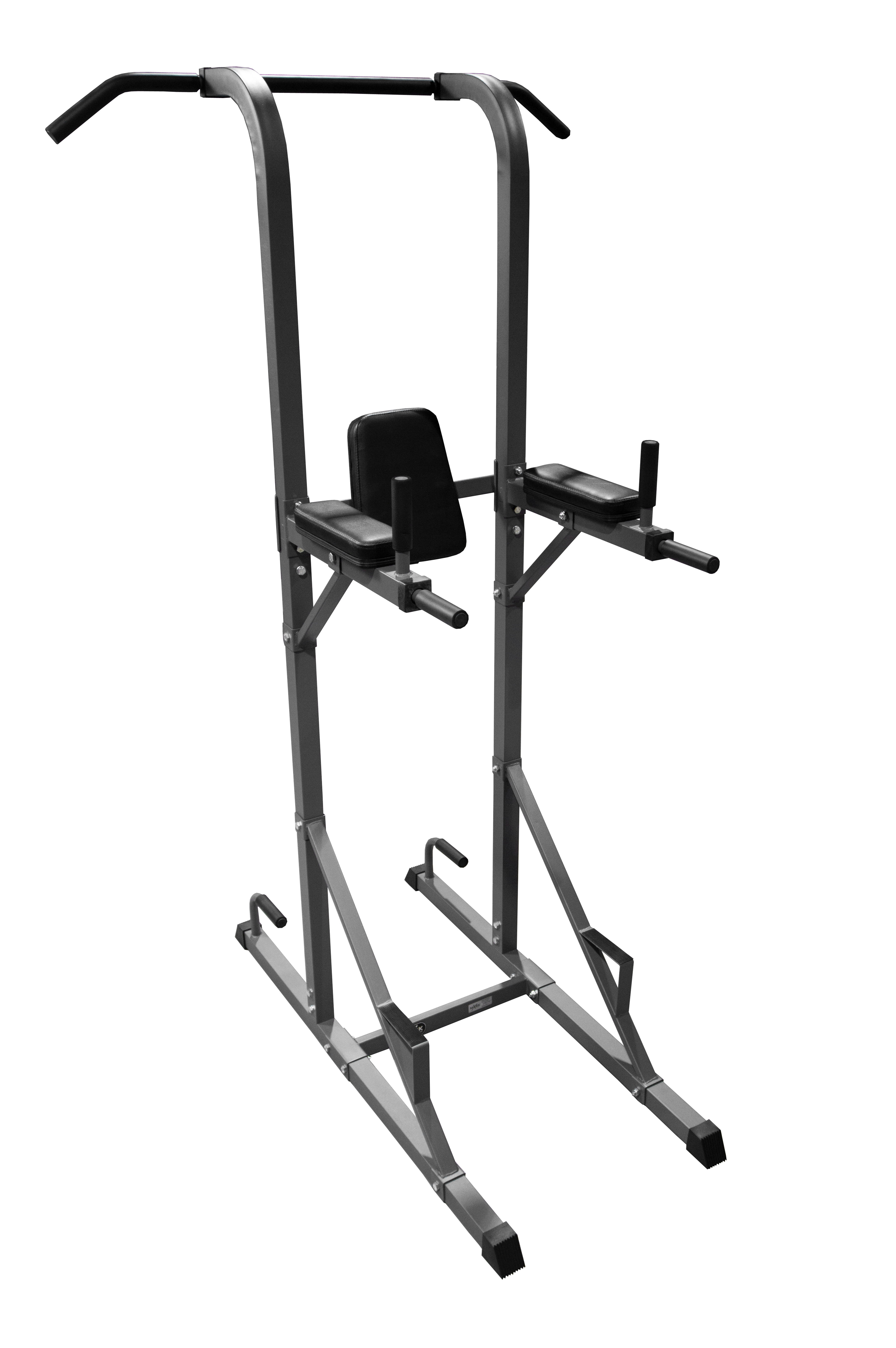 xmark fitness xmark power tower with dip station and pull. Black Bedroom Furniture Sets. Home Design Ideas