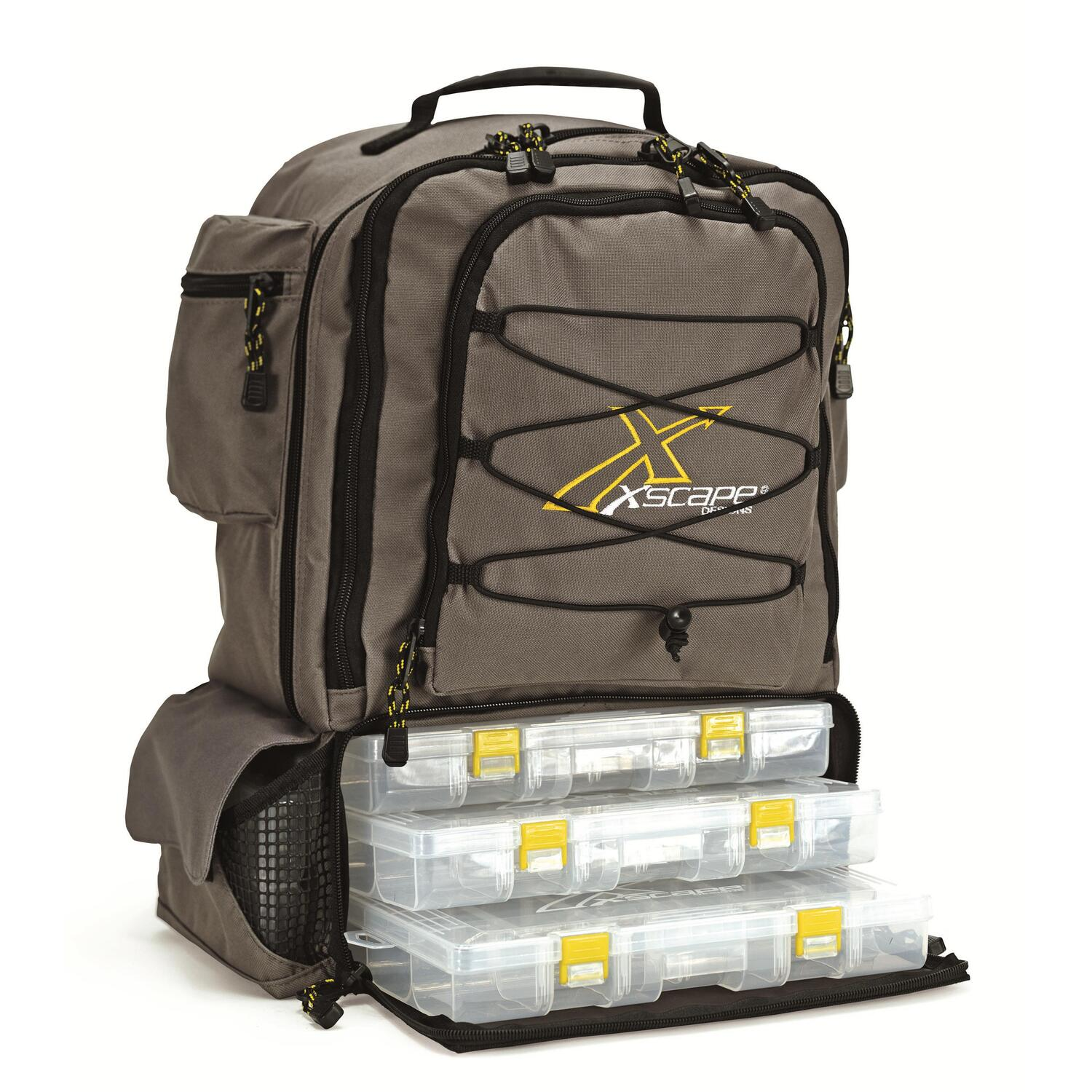 Fishing backpack for Fishing tackle box backpack