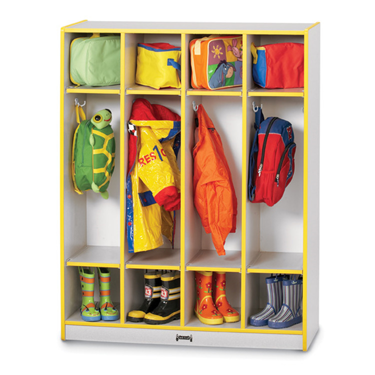 Jonti-craft Coat Locker - 4 Sections