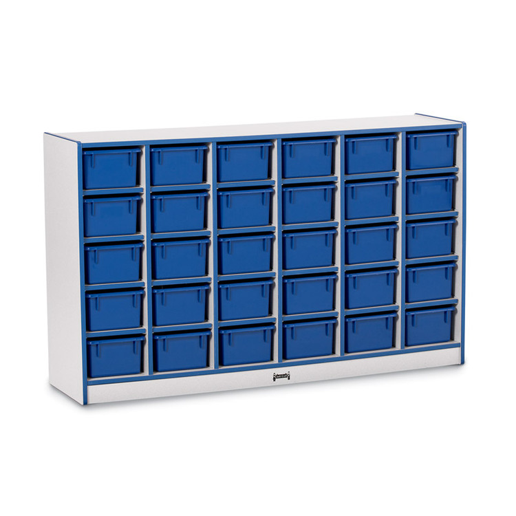 30 Tray Mobile Cubbie With Trays