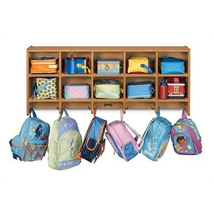 Rainbow Large Wall Mount Coat Locker Without Trays