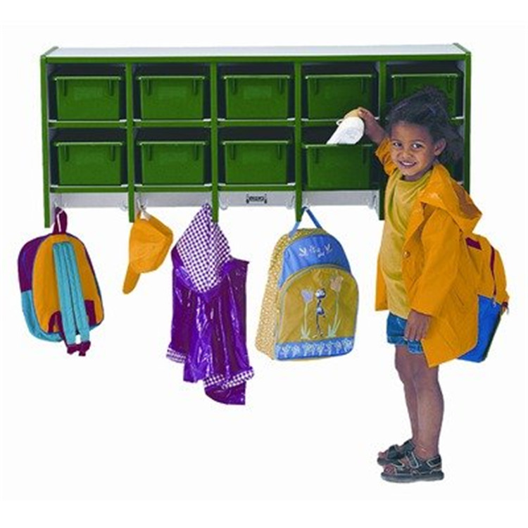 Coat Locker -large Wall Mount With Trays