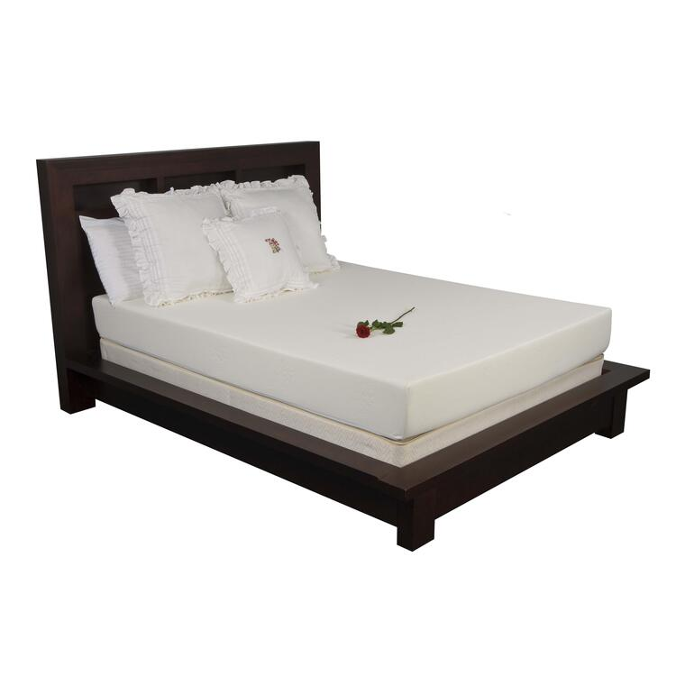 8 in. Plush Memory Foam Mattress