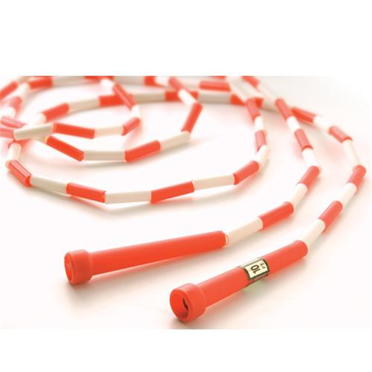 10' Segmented Skip Rope Red/White