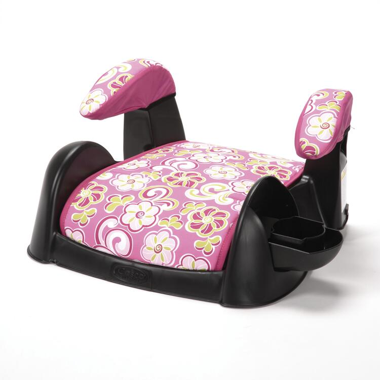 Cosco Highrise Booster Car Seat (Lorraina)