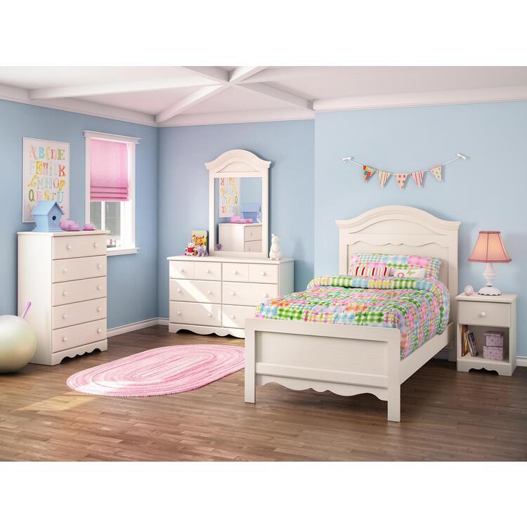 south shore summer breeze twin 5 piece bedroom set in
