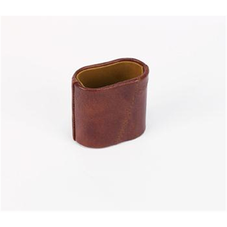 Patched Genuine Leather Dice Cup
