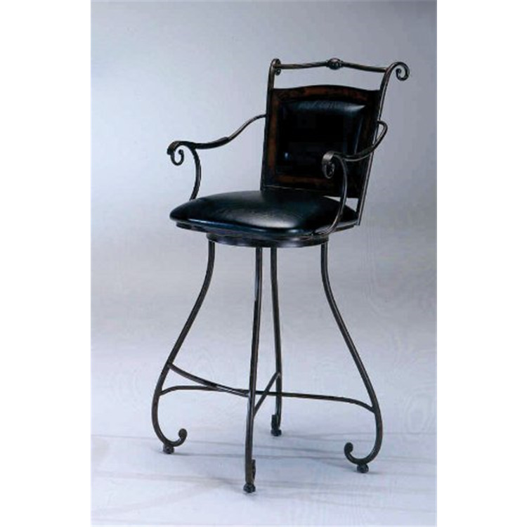 Barcelona Memory Swivel Bar Stool