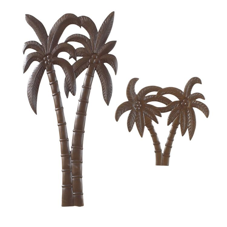 Patio Small Palm Wall Decoration
