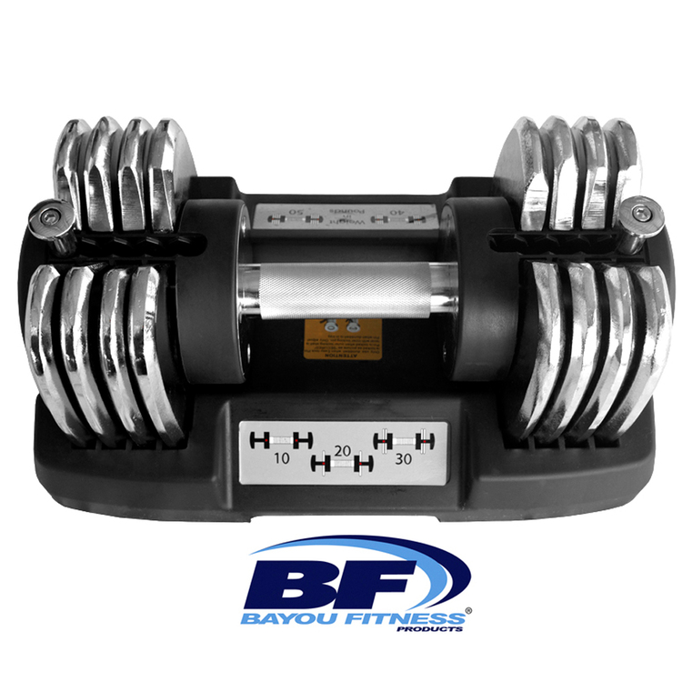 Bayou Fitness® 50 lb. Adjustable Dumbbell