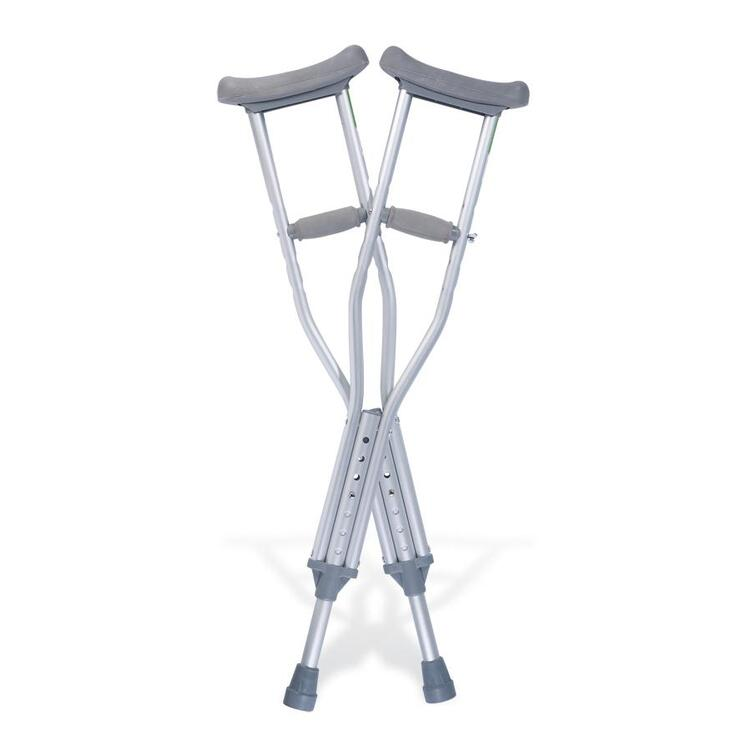 Quick-Fit Child Crutches