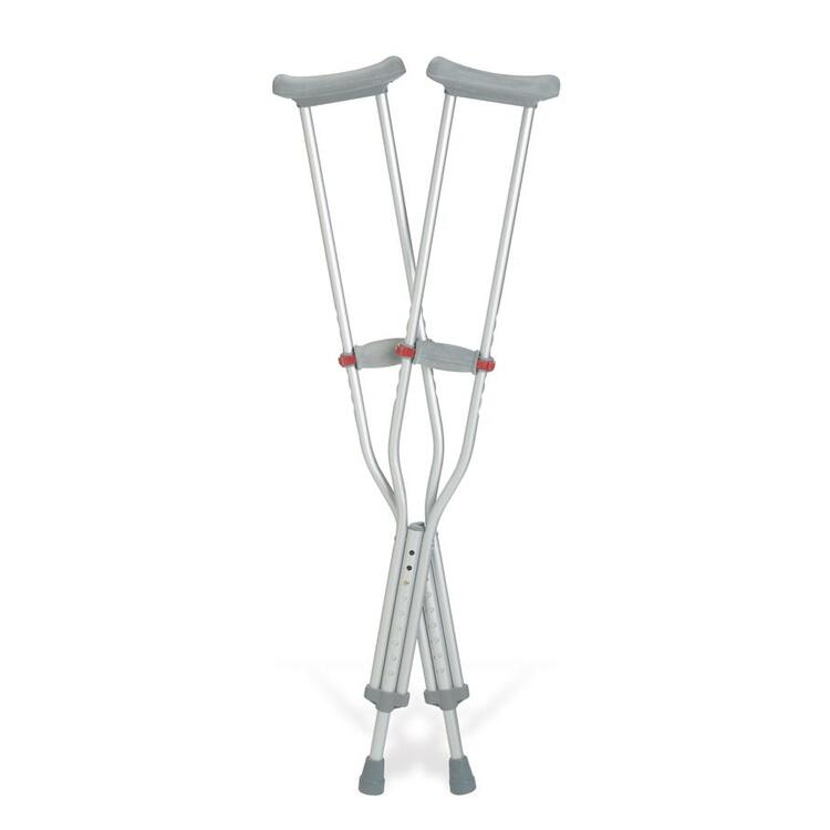 Red-Dot Crutches