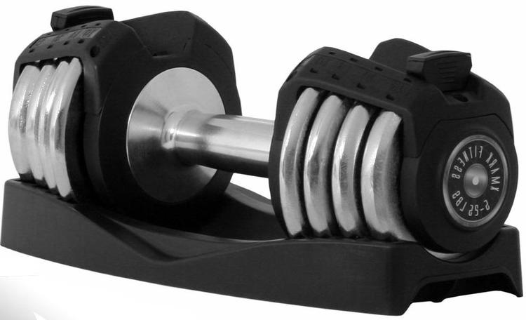 Xmark Fitness Adjustable Dumbbell